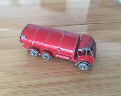 MATCHBOX LESNEY No 11 ESSO PETROL TANKER MADE IN ENGLAND BY LESNEY