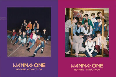 WANNA ONE KPOP Repackage Nothing Without You [Wanna or One Ver.] CD Album