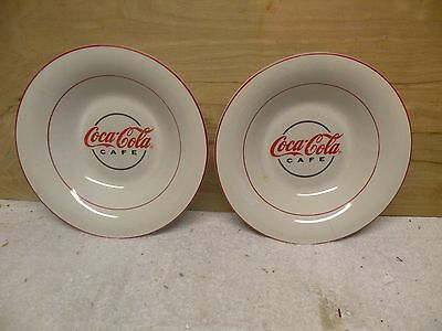Coca-Cola Cafe Soup Bowls By Gibson Set Of 2