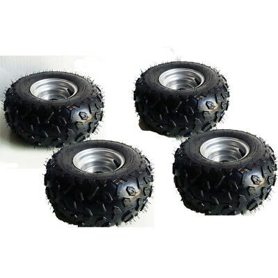 4X 145/70-6 Tire Tyre and Rim for electric ATV Go kart Scooter Mobility za