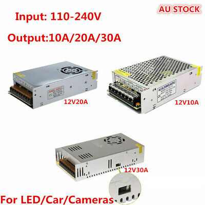 AC 100-240V TO DC 12V Transformer Regulated Power Supply For LED Strip Light Car