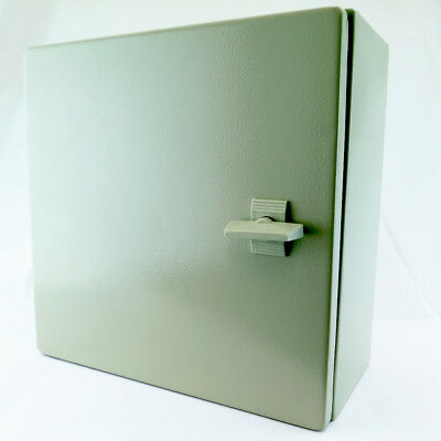 "YuCo 16"" 16"" 8"" Metal IP65 Enclosure WITH Backplate YC-16X16X8-IP65"