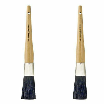 Wooster 2-Piece 1.25 in. Ideal Oval Sash Nylon Brush Painter Paint Painting Tool