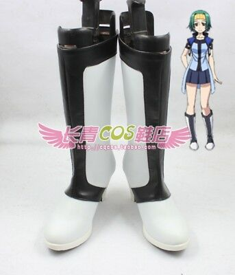 New! Cross Ange Salia Boot Party Shoes Cosplay Boots Custom-made