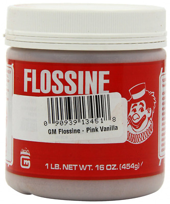 Gold Medal Flossine Can, Vanilla Pink