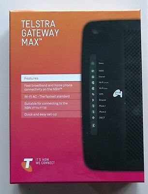 Telstra Gateway Max TG799vac - BRAND NEW and UNOPENED