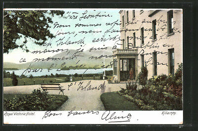AK Killarney, Royal Victoria Hotel 1906