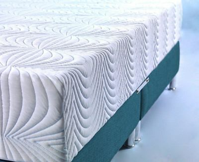 CoolBlue Memory Foam Mattress single double king super 3ft 4ft 4ft6 5ft 6ft