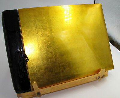 Vintage Large Japanese Lacquer Scrap Album unused, empty