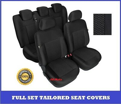 Tailored Seat Covers Full Set For Nissan Qashqai Mk1 up to 2013