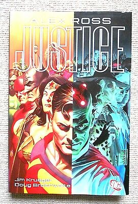 Justice - Hardcover  - Dc Comics - Rare Printing - Alex Ross - Unread - Ootp