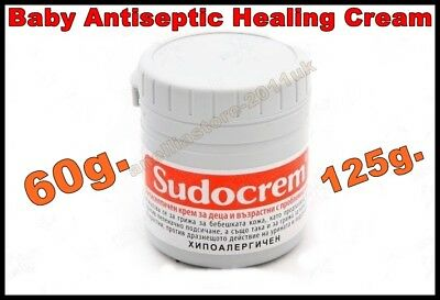 Sudocream Baby Antiseptic Healing Cream, Choice 125g. or 60g.