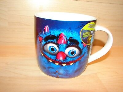 Kinder Halloween Kaffeetasse (2) - Blaues Monster (Kuschel Monster)