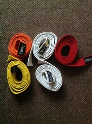 bundle karate belts x 5