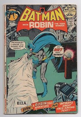 DC Comics Batman #240 Bronze Age
