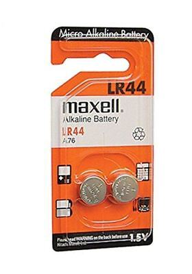 Maxell LR44/357/AG13/A76 Alkaline Button Cell Battery - 2-pack