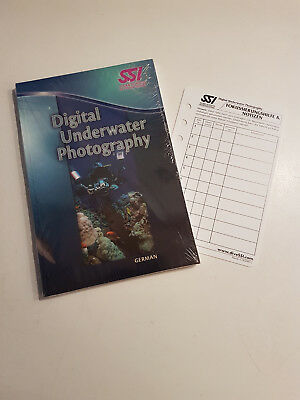 SSI Digital Underwater Photography Buch - blau -