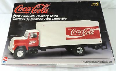AMT Coca Cola Ford Louisville Delivery Truck Model Kit
