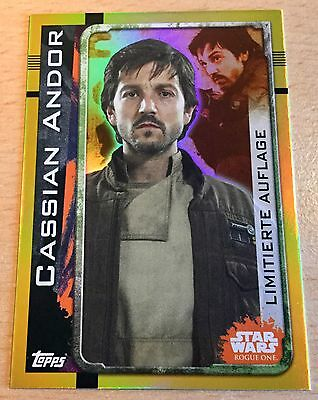 Topps Star Wars ROGUE ONE Limitierte Auflage LEMPB Cassian Andor