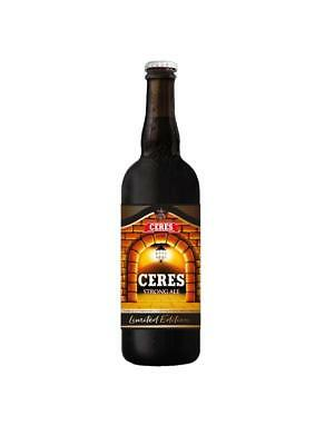 BIRRA CERES 75 cl LIMITED EDITION kit 6 bottiglie + gadget ceres omaggio