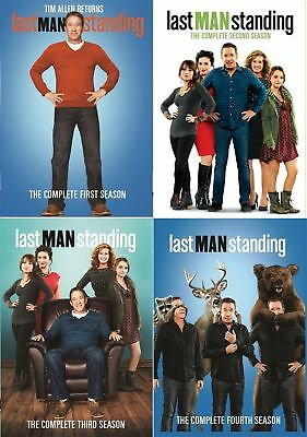 Last Man Standing: The Complete Season 1 2 3 4,1-4 (DVD,12-Disc Set) Sealed