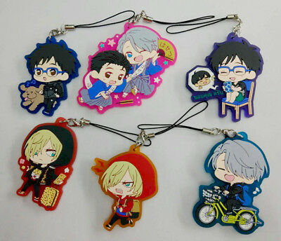 Yuri!!! on Ice . Phone Strap manga anime cosplay key chain handyanhänger Katsuki