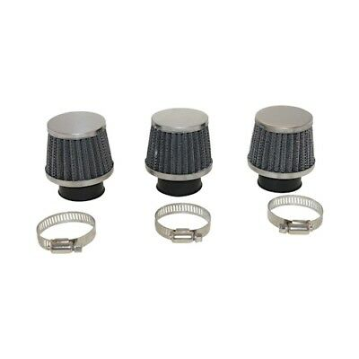 3X Air Filters Universal for Sports 17,5er Carburettor with Connection of 35 - 3