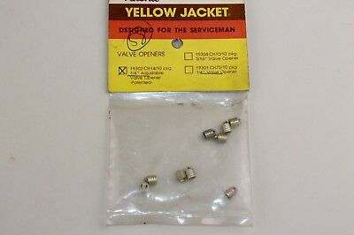 """Ritchie Yellow Jacket Valve Openers (9 Pack) 19302-CH14 1/4"""" Adjustable 