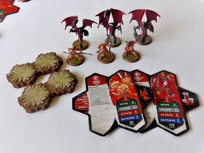 Heroscape Wave 2 Utgar's Rage Expansion Set, Drones and Minions