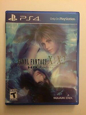 PS4 Final Fantasy X/X-2 HD Remaster Replacement Case (NO GAME)