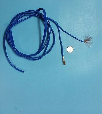 2m long blue, 2Pin,50 cores,flexible electric cable wire for Car,  RC,  Servo