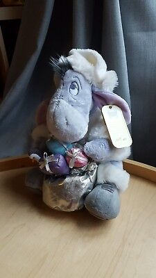 BNWT Disney Store 2008 Limited Edition Eeyore Present Sack Soft Plush Xmas Gift