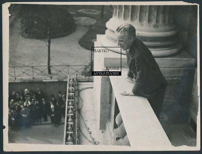 Charlie Chaplin Original Foto ca. 1935 in Paris ?