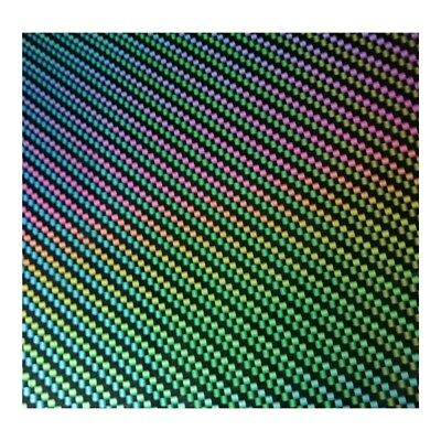 Hydrographic Water Transfer Hydro Dipping Film Carbon Fiber Prism 1Sq