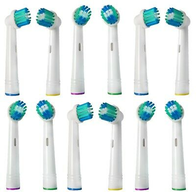 16 Pcs Toothbrush Heads Replacement Compatible For Braun Oral B Electric UK