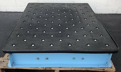 """BALL ROLLER 48"""" x 36"""" X 7-1/2"""" TABLE INDUSTRIAL LABORATORY WAREHOUSE"""