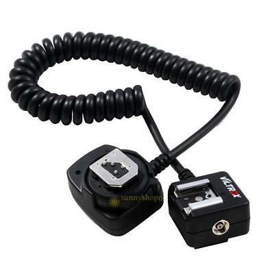 80cm SC-29 TTL Off-Camera Flash Light Hot Shoe Sync Cord Cable for Nikon DSLR