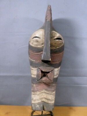 Old Tribal Songye Mask DR Congo Fes-Gb683