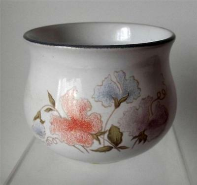 Denby Pottery Encore Pattern Sugar Bowl made in Stoneware