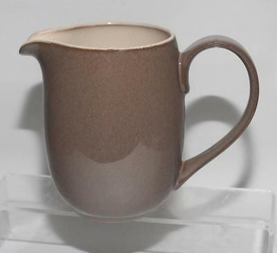 Denby Pottery Pampas Pattern Milk Jug 1¼ Pint Size Late Smooth Design Stoneware