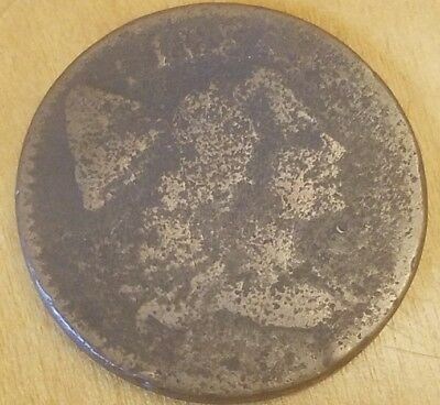 1794 Liberty Cap Flowing Hair Large Cent Rare Us Type Coin