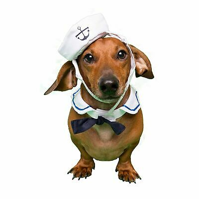 Sailor Small Dog Costume –– Perfect for Stocking Stuffer