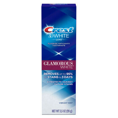 Crest 3D White Luxe Glamorous White Teeth Whitening Toothpaste 99g (3.5 oz)