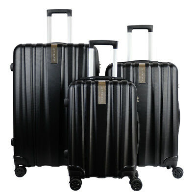 3pc Luggage Suitcase Trolley Set TSA Travel Carry On Bag Hard Shell Lightweight