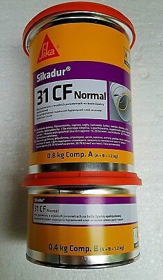 SIKA Sikadur 31 CF Normal A+B = 1.2kg High Performance Super Strong Glue