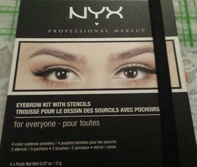 NYX  Eyebrow Kit With Stencil For Everyone - BNIB - Unavailable in the UK - Rare