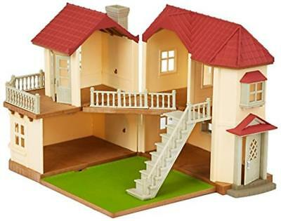 Sylvanian Families 2 Storey Home Beechwood Hall Walnut Squirrel Family House