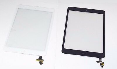 Touch Screen Glass Digitizer Replacement+ IC+Home Button for iPad Mini 1 2