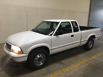 1998 GMC Sonoma SLS Government Maintained Fleet Vehicle - NO RESERVE!! 1995 1996 1997 1999 2000 2001
