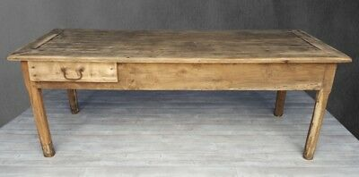 Antique Rustic French Farmhouse dining table